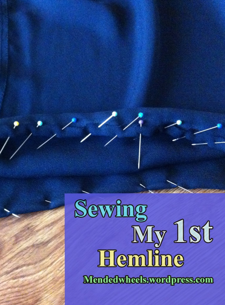 Sewing My First Hemline