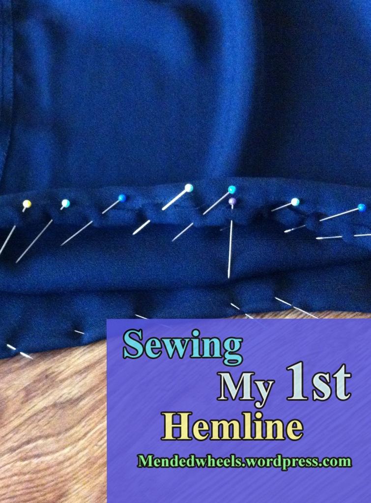 Sewing My First Hemline