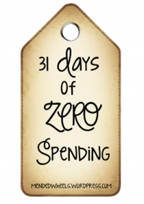 31 Days of Zero Spending