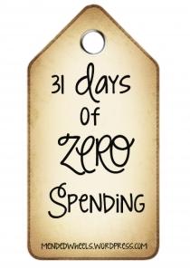 31 Days of Zero Spending