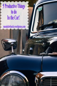 5 Productive things to do in the car