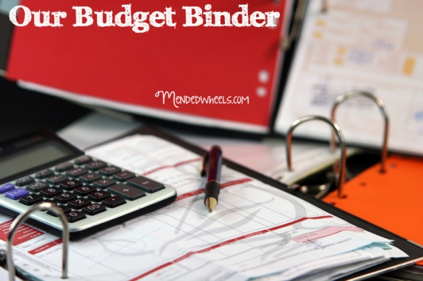 Our Budget Binder!