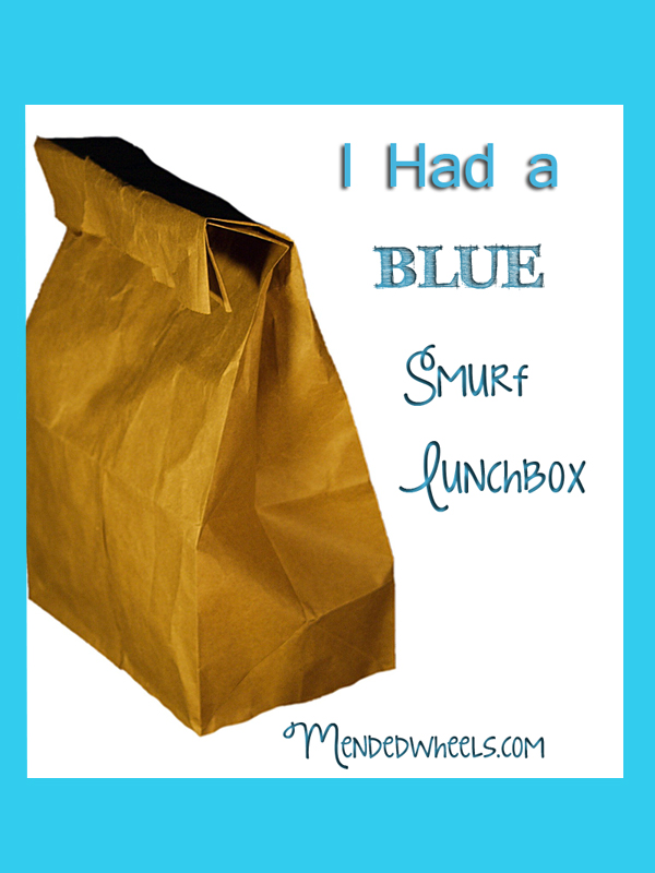 I Had a Blue Smurf Lunchbox