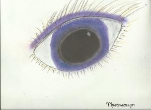Pastel Eye by Jill Stewart
