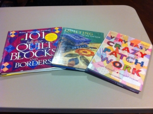 Quilting Books From the Library