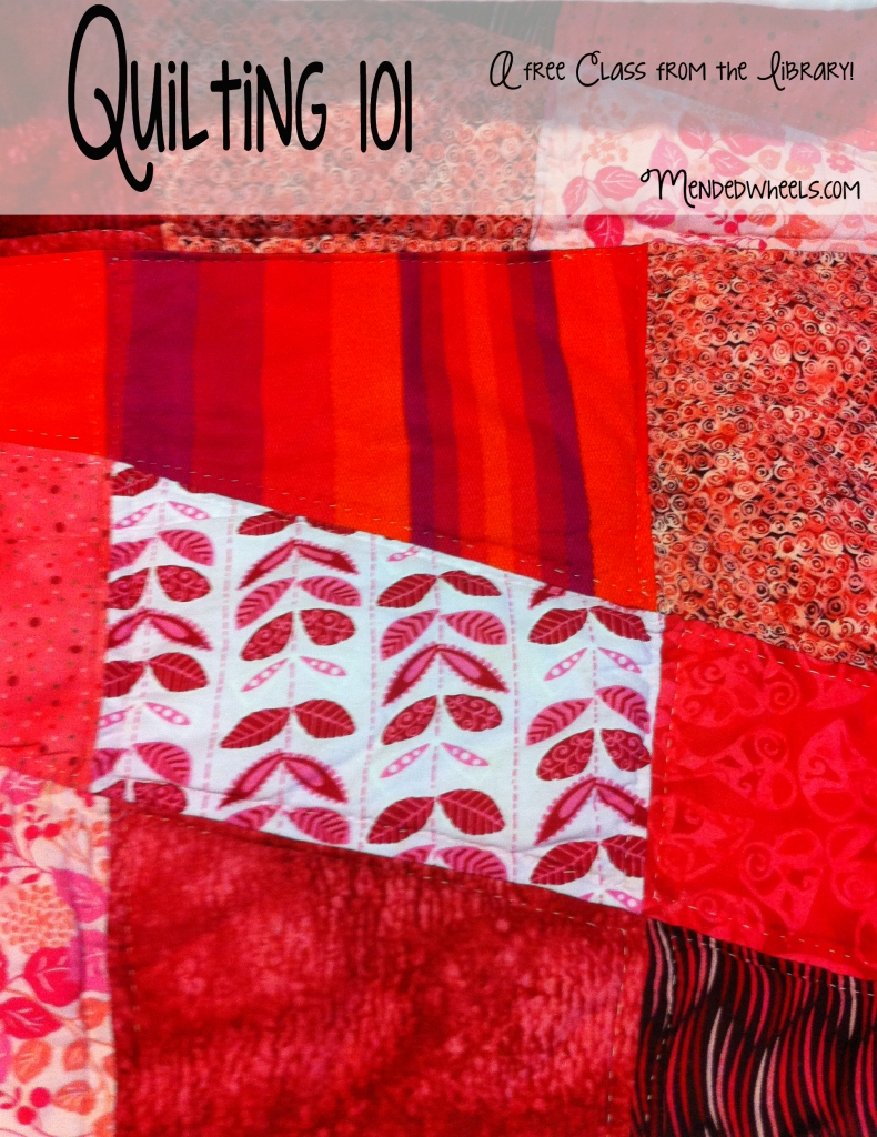Quilting 101 Class
