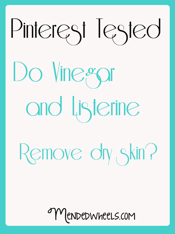 Vinegar and Listerine