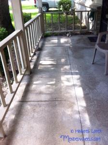 Clean Porch