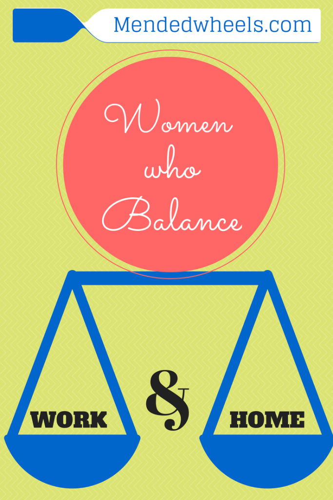 Are you a woman who works outside of the home?  If so, you know the challanges of balancing work and home!